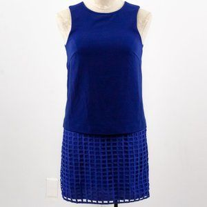 Revolve Stylestalker XS Geometric Mini Dress Blue